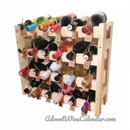 Advent wine calendar