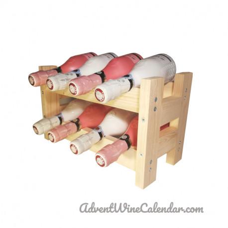 Valentine mini wine rack S